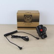 DSLR Cámara Pro Control de Zoom para Sony LANC de A1C 150P Panasonic 180A 130AC DV ACC controlador remoto para Fotografica Video