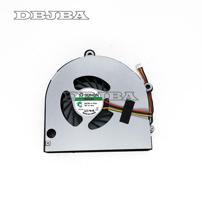 New CPU Laptop Cooling Fan Para Toshiba A660 A665 C660 P750 C665 A665-S5170 AB7905MX-EB3 DC5V 0.40A