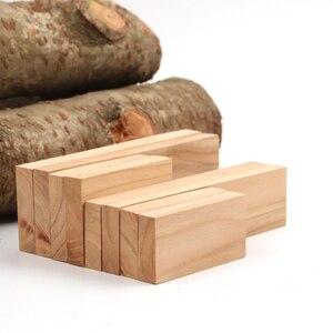 EDC knife DIY knife handle handle material Walnut timber wood Slingshot handle-1 piece