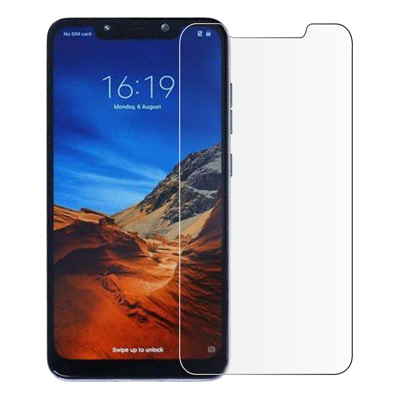 2.5D Curved Edge Protective Film For Xiaomi Pocophone F1 Tempered Glass On The For Pocophone F1 Scre