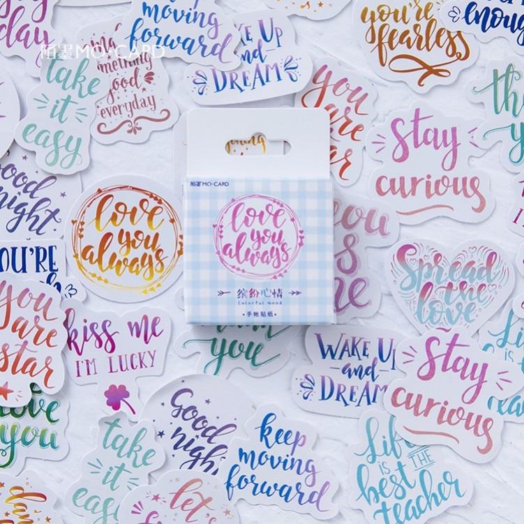 46-pz-pacco-stati-uniti-fioriti-adesivi-decorativi-di-cancelleria-scrapbooking-fai-da-te-diario-album-stick-etichetta