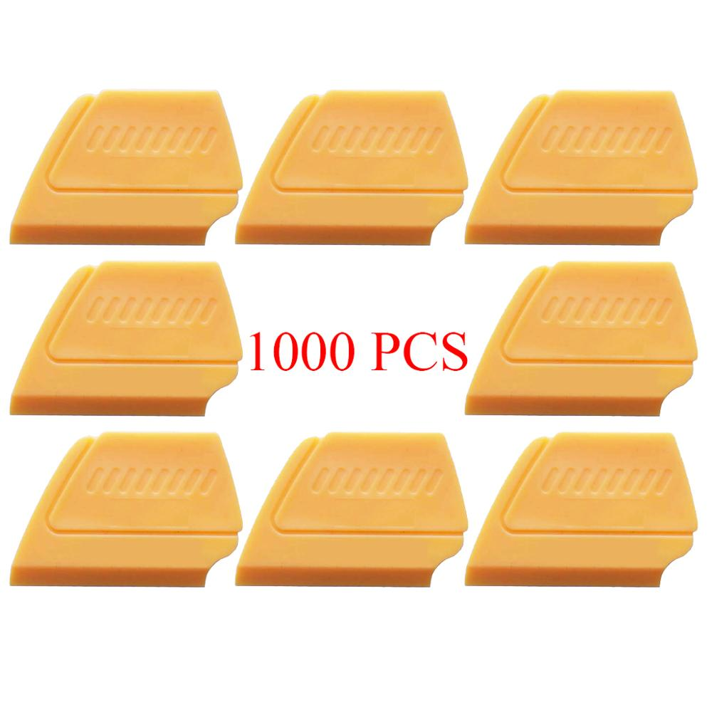 1000PCS Vinyl Car Wrapping Squeegee Scraper Window Tint Tool Vehicle Vinyl Stickers Film Applicator Glue Remover Water Wiper A14