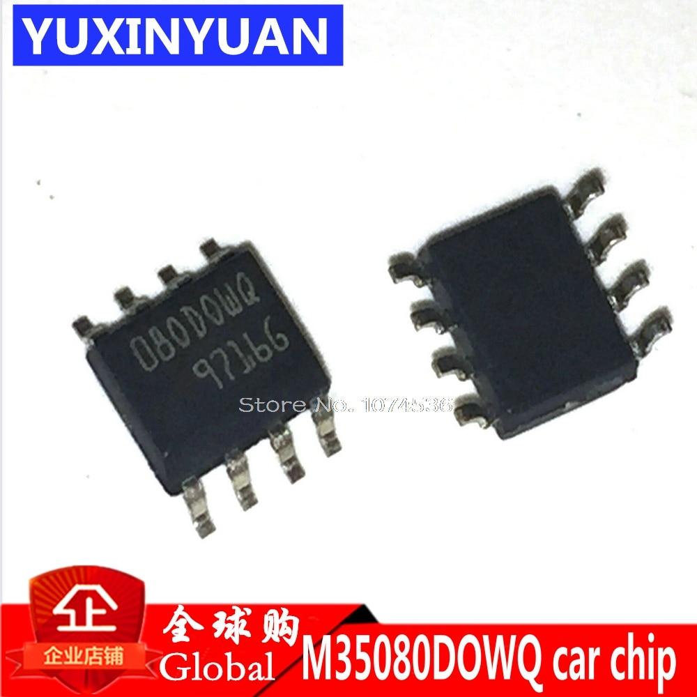 M35080 080DOWQ 080D0WQ 35080 ST35080 SOP-8 Автомобильный усилитель тюнинг Таблица IC чип для часов BMW watch IC Быстрый ластик IC 080DOWT 1P