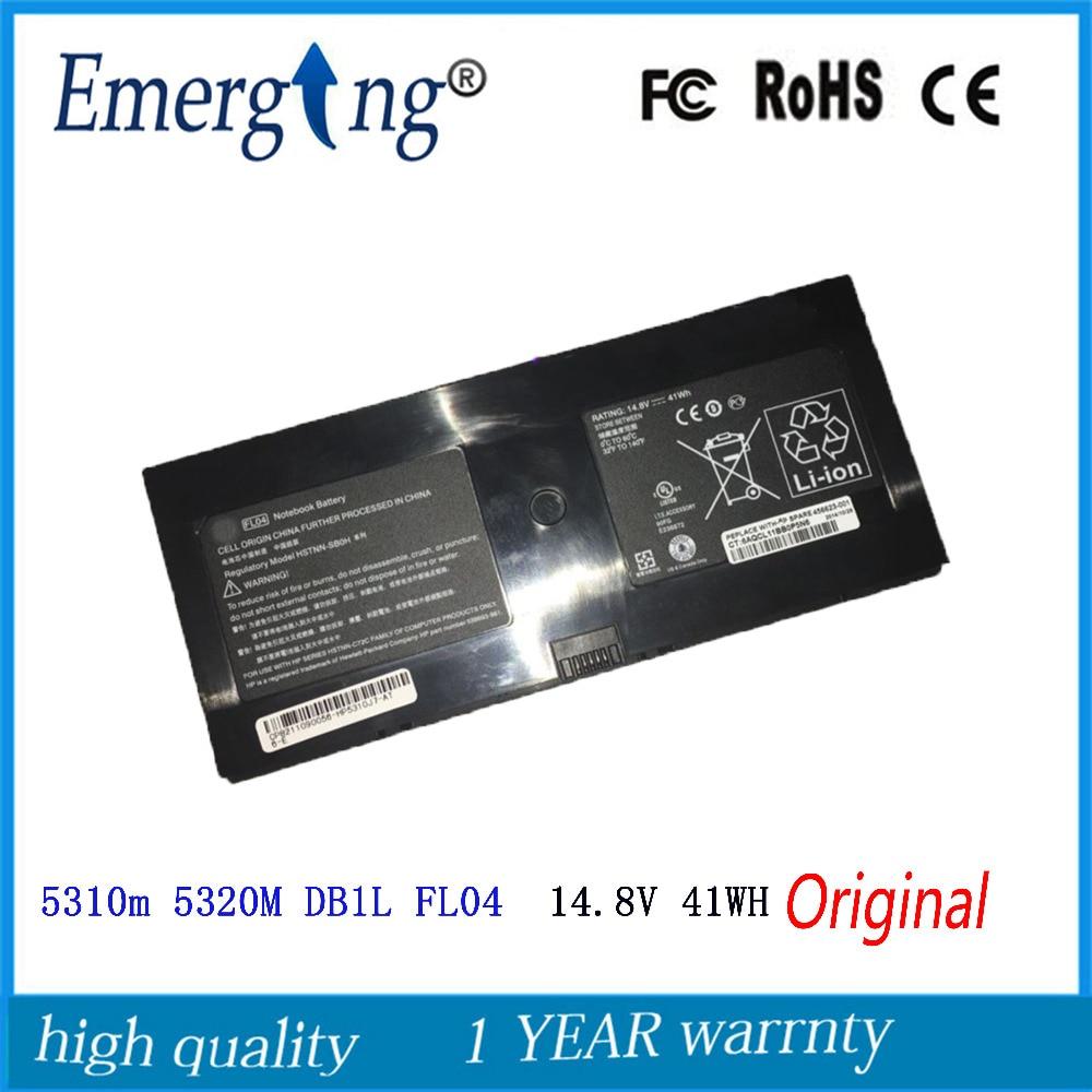 14,8 V 41WH новый оригинальный аккумулятор для ноутбука HP PROBook 580956-001 AT907AA BQ352AA 5310M 5320M DB1L FL04