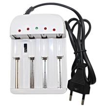 Chargeur de batterie universel Intelligent Li-ion/Ni-MH 18650/26650/AA/AAA 4 sorties 1.2 V/1.5 V/3.6 V/4.2 V pour lampe de poche LED prise US/EU