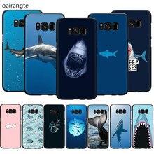 ocean Whale Sharks fish Soft TPU phone cover case for Samsung S6 S7 Edge S8 S9 S10 Plus S10e Note 8 9 10 M10 M20 M30