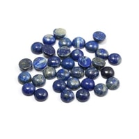 natural lapis lazuli gem stones cabochon 10 12 14 16 18 mm round no hole for making jewelry