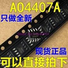 10 pcs/lot AO4407AL AO4407A AO4407 SOP-8 En Stock