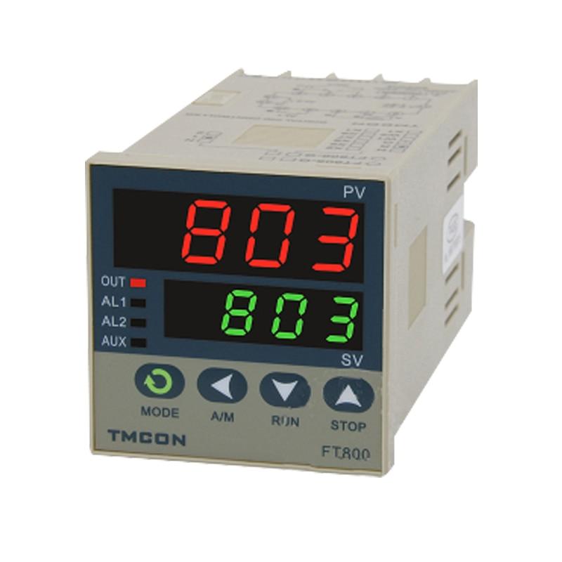 Ft803 pid controlador de temperatura inteligente display digital termostato 250 v 3a regulador temperatura controle