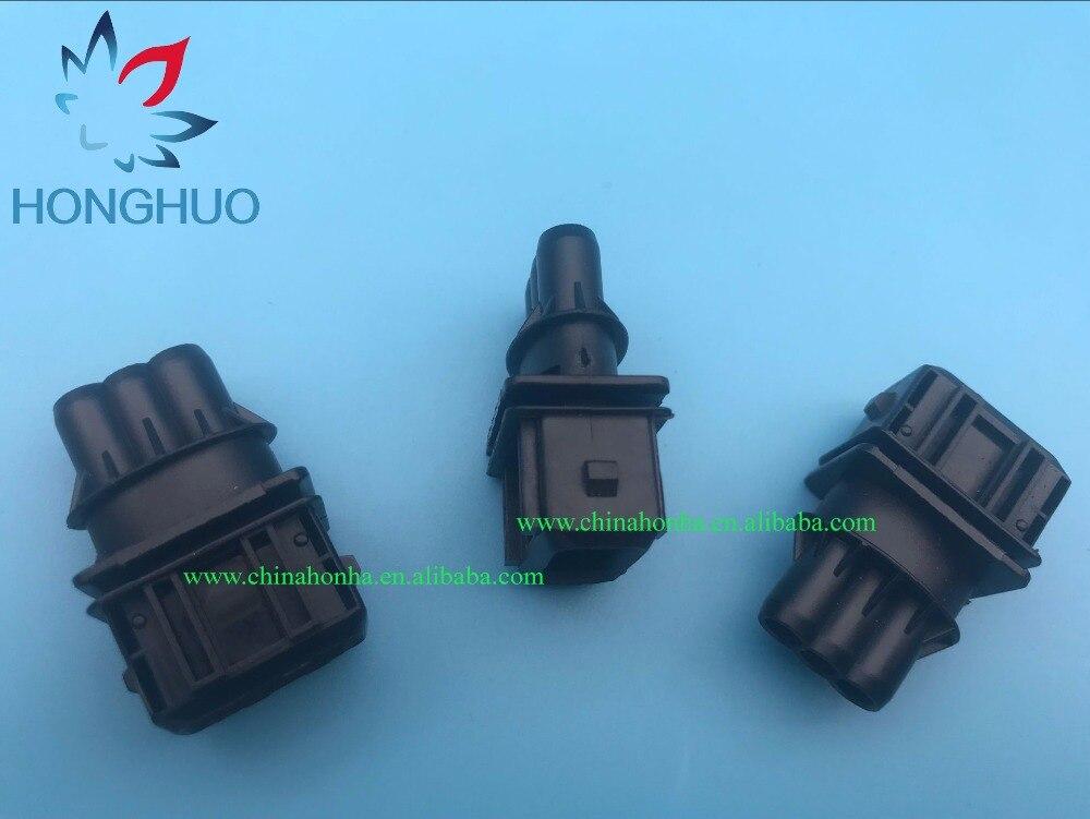 3 vías 3 pin 3,5 MM inyector de combustible de coche enchufe auto múltiples conectores macho JUNIOR temporizador de alimentación conector JPT