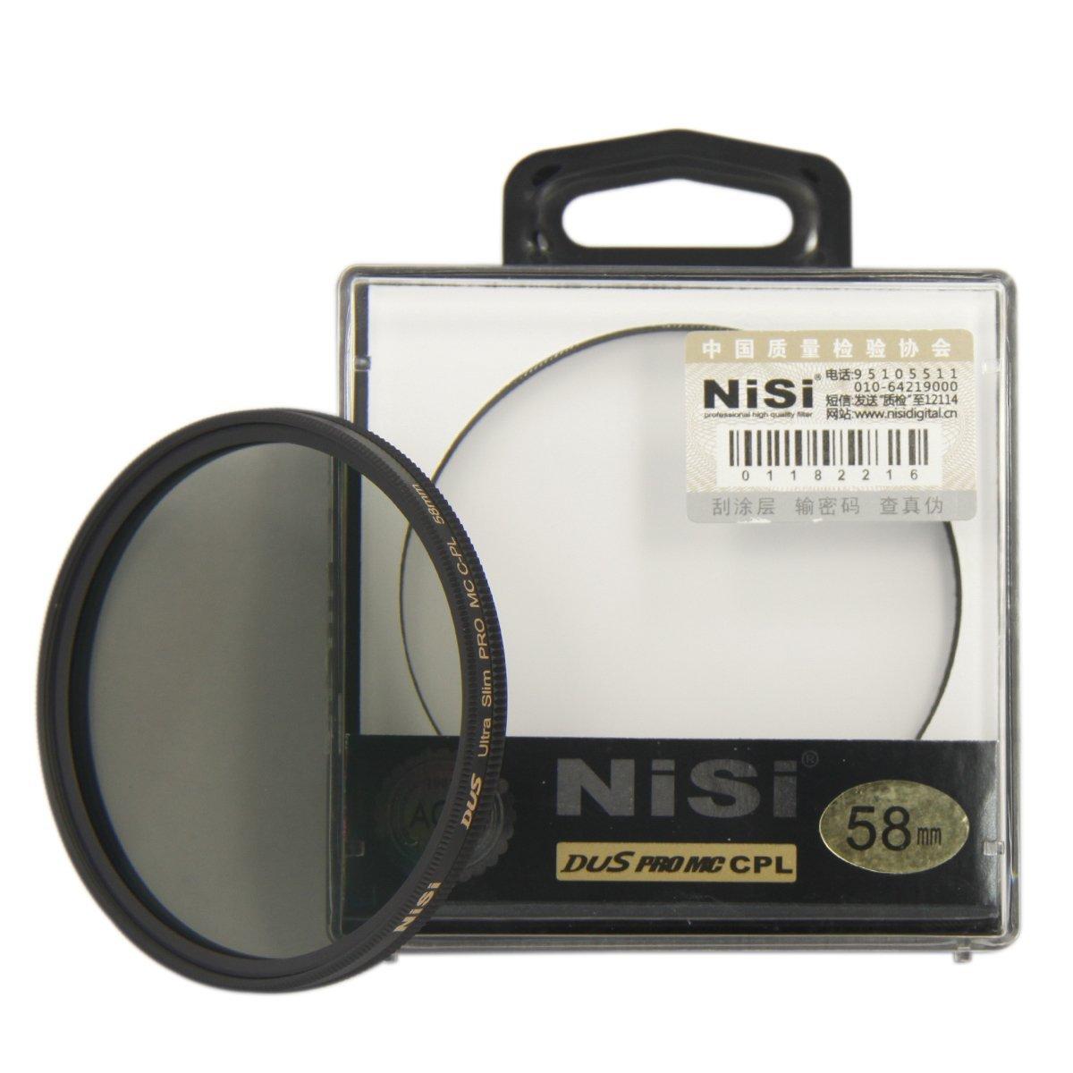 NISI 58mm PRO MC CPL Multi Polarizador Circular filtro de la lente