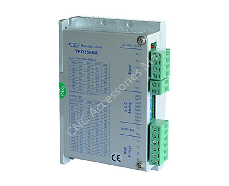 Controlador de pasos Original de 3 fases Yao YKD3506M DC20-50V 5.5A 32 bits DSP controlador de pasos para 42-86mm motor