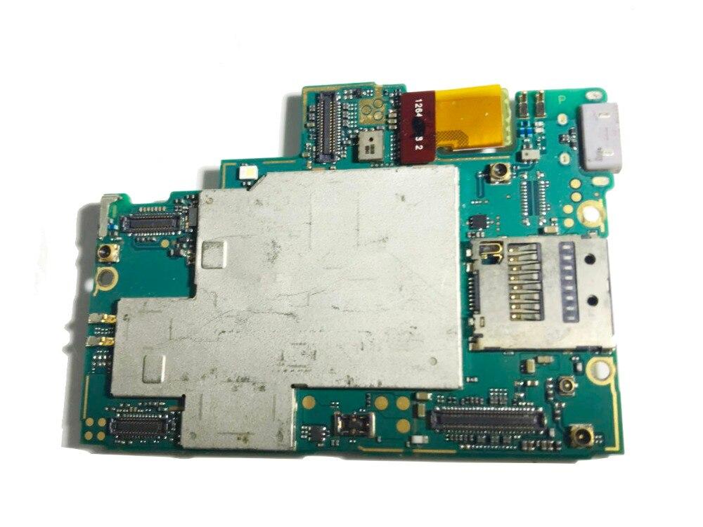 Trabalho completo desbloqueado para sony xperia z l36h c6603 placa-mãe para sony xperia z l36h c6603 lógica placa mãe