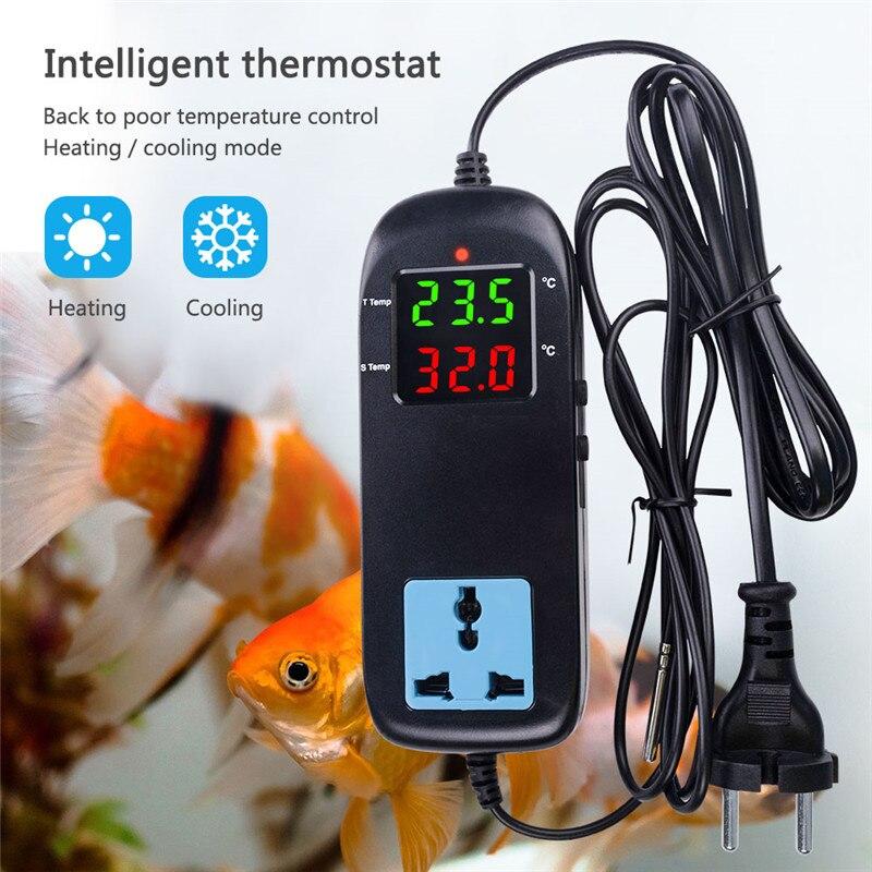 EU US MH2000 Temperature Controller Thermostat Regulator AC 110V 220V Fish Tank Aquarium Intelligent Socket -40~120C