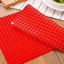 39x28cm grill piramida Pan pieczenia Nonstick maty silikonowe do pieczenia Pad formy taca do pieczenia do piekarnika mikrofalówki kuchenne narzędzia do pieczenia