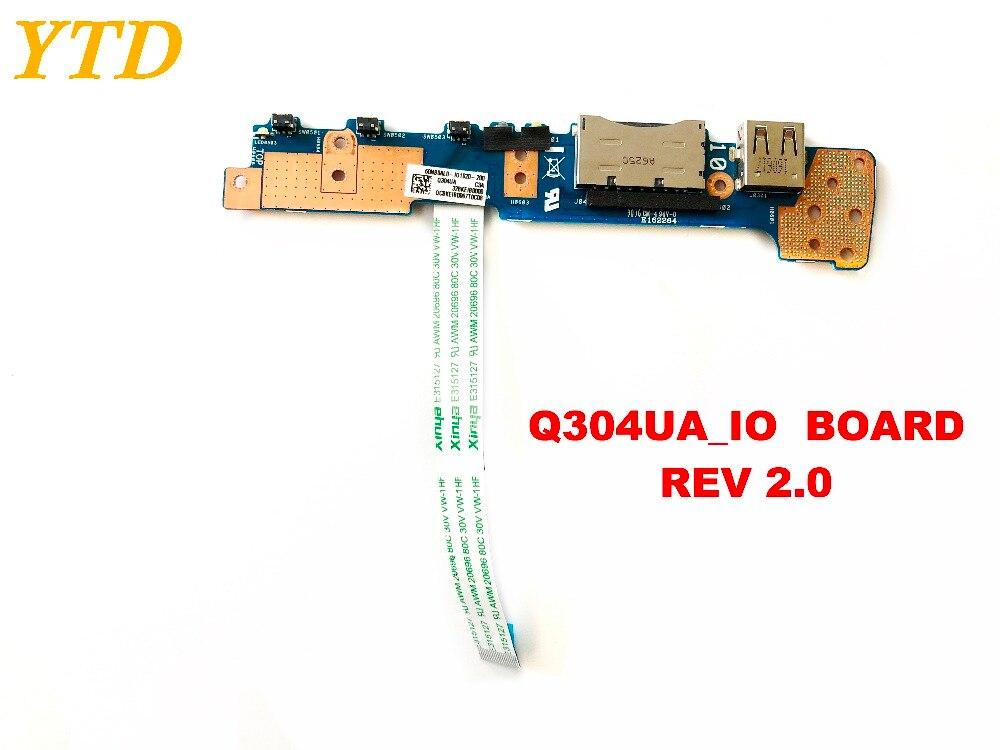 Placa de interruptor de botón de encendido Original para ASUS Q304UA, placa...