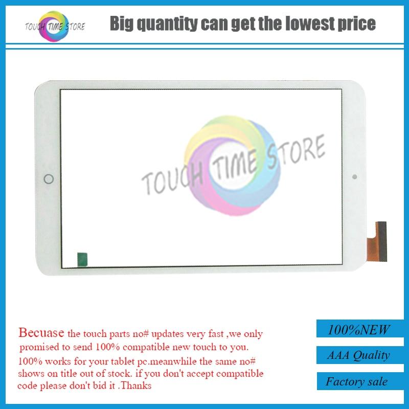 Pantalla táctil para tableta de 8 pulgadas para Adana Reeder A8i QUAD Digitalizador de Panel táctil vidrio de sustitución con Sensor