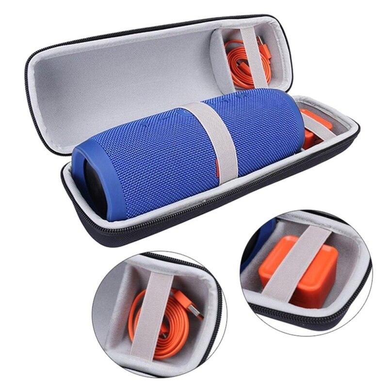 Mais novo alto-falante caso portátil difícil de transportar saco caixa capa protetora para jbl carga 3 alto-falante bluetooth caso bolsa