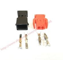 10 Set Auto 2 Pin hembra macho ABS conector de Sensor puerta luz lámpara Socket uso para VW 893 971 632 / 893 971 992