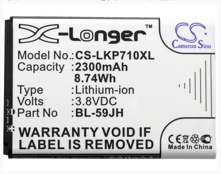 Cameron Sino 2300 mAh batería para LG AS870 D500 D505 D520 promulgar 4G LTE FX3 MS500 Optimus F3 f3Q F5 F6 L7 II Dual L7II P703