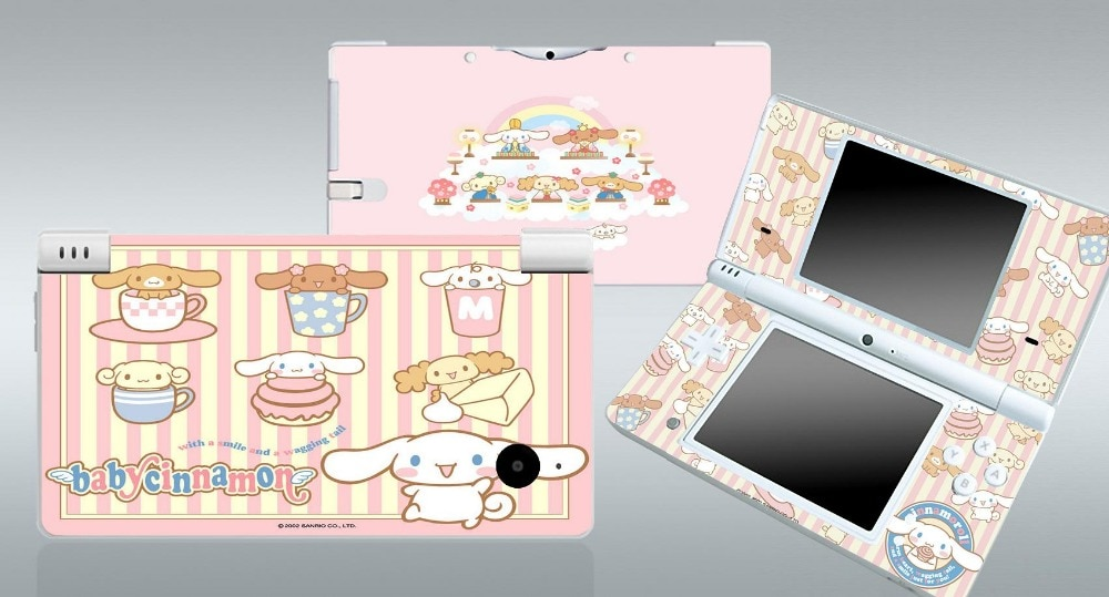 Babycinnamon 222 piel de vinilo etiqueta de protección para Nintendo DSi, ndsi pegatinas de piel