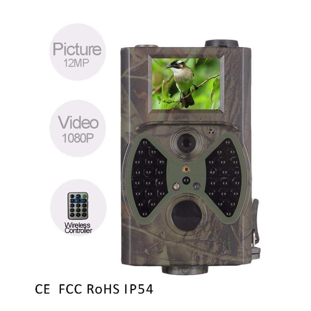Cámara de caza guojxcy HC300A 1080p 36 Uds 940nm LED infrarrojo trail Cámara casse Scouts visión nocturna vida silvestre Cámara fotos trampa