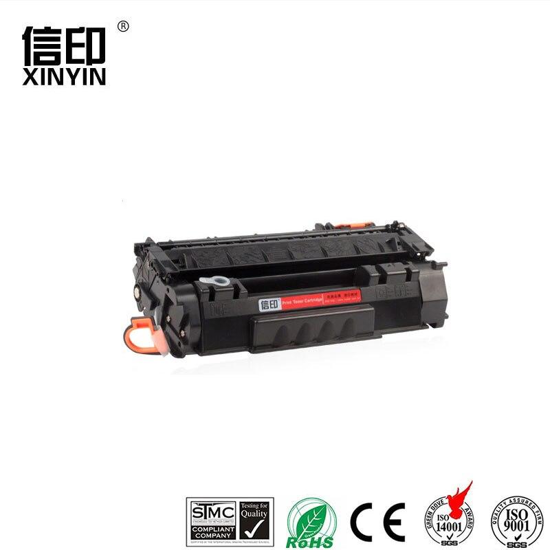 XColor Q7553A 7553 7553a cartucho de tóner para HP LaserJet P2014 P2015 P2015D P2015N M2727 piezas de la impresora