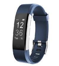 """0.96"""" Smart Wristbands 115Plus HR Smart Band Call/SMS alert Sleep/Heart Rate IP67 Waterproof BT 7 days standby time Smart APP"""