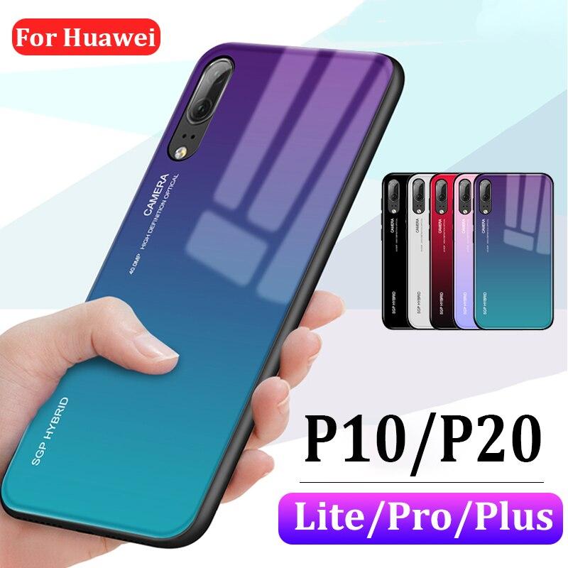 Capa protetora para huawei p10 p20 lite, coque huaway p 10 20 plus pro p20lite, proteção para telefone fundas pro20 huawei i