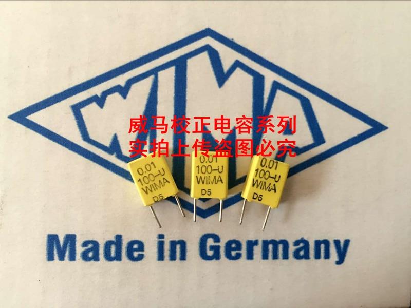 2020 hot sale 10pcs/20pcs WIMA Germany yellow capacitor FKC2 100V 0.01UF 100V 103 10n P: 5mm Audio capacitor free shipping 2020 hot sale holland bc 20pcs 50pcs 82pf 100v 2