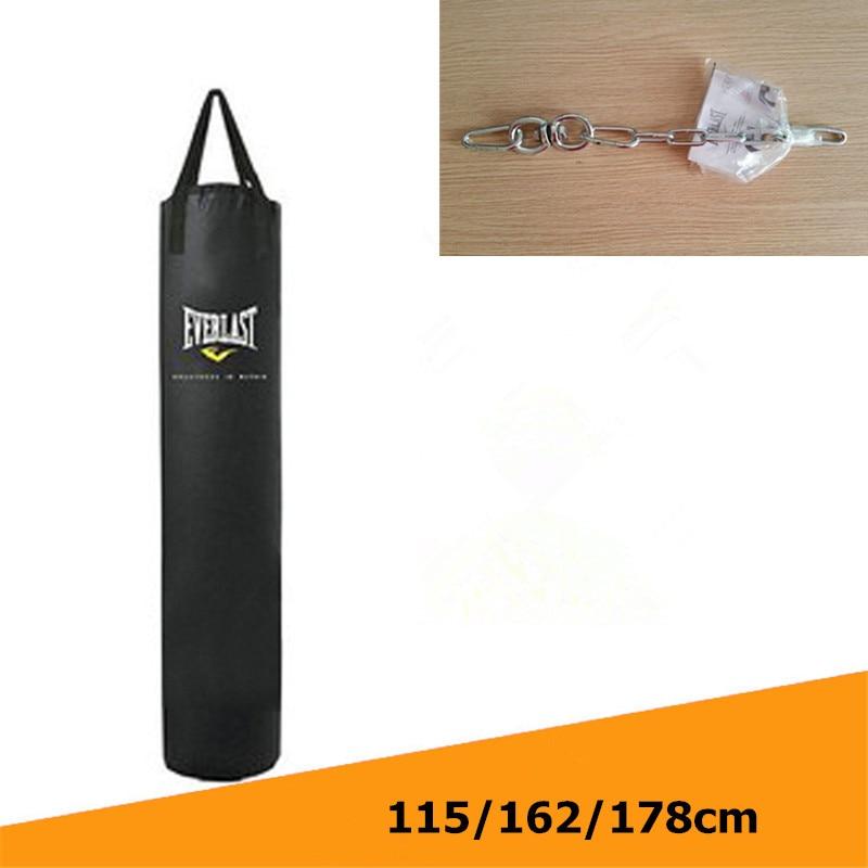 Kick Boxing Bag 115cm/162cm/178cm Training Fitness Punching Bag Saco De Pancada Boxeo Hook Hanging MMA Fight Sandbag (Empty)