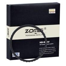 Respectivamente HD SLIM UV filtro Pro HD-UV de alta definición Ultra-lente violeta Protector Digital lente de cámara SLR 52/58/67/72/77/82mm