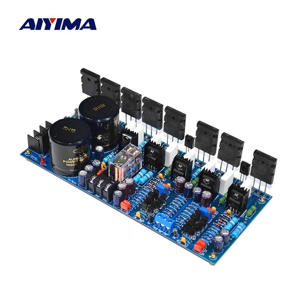 Amplificador DE SONIDO de potencia AIYIMA Amplificador de Audio 2SC5171 TTC5200 300Wx2 Amplificador estéreo Mini Amplificador para altavoz de cine en casa