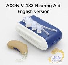 Original AXON V-188 version anglaise amplificateur casque haut de gamme BTE aide auditive amplificateur sonore personnel certifié CE