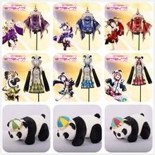 LoveLive! Sonnenschein!! Hanamaru Kanan Rubin Yoshiko Dia Mari Mädchen Phantasie Cheongsam Awakening Cosplay Kostüm + Geschenk Nette Panda