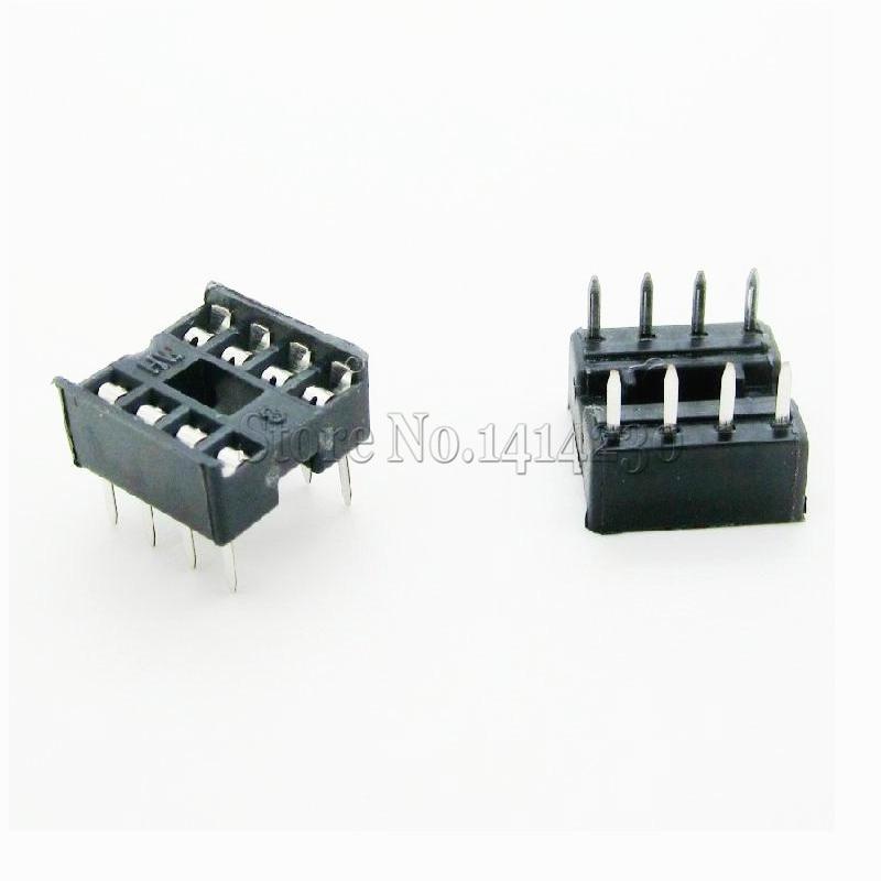 10 sztuk 8pin DIP IC gniazda adapter lutowane typ 8 pin DIP-8