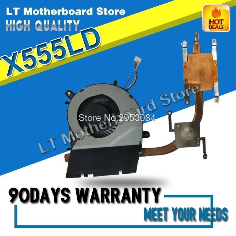Pour X555LD X555LP X555LJ X555LF X555LI X555L A555L K555L F555L CPU cuivre radiateur module De Refroidissement Radiateur Carte Mère