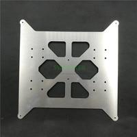 FLSUN I3 Plus обновленная алюминиевая y-каретка с подогревом кровать Базовая пластина 3 мм толстые 3D части принтера