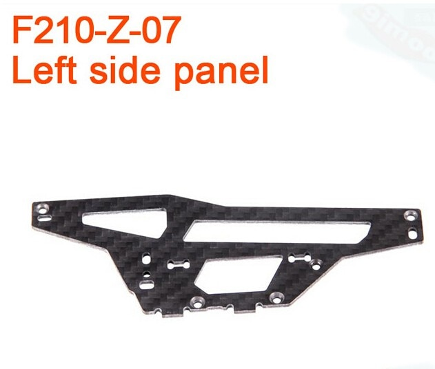 F17430 Walkera F210 RC Helicopter Quadcopter spare parts F210-Z-07 Left Side Panel Plate