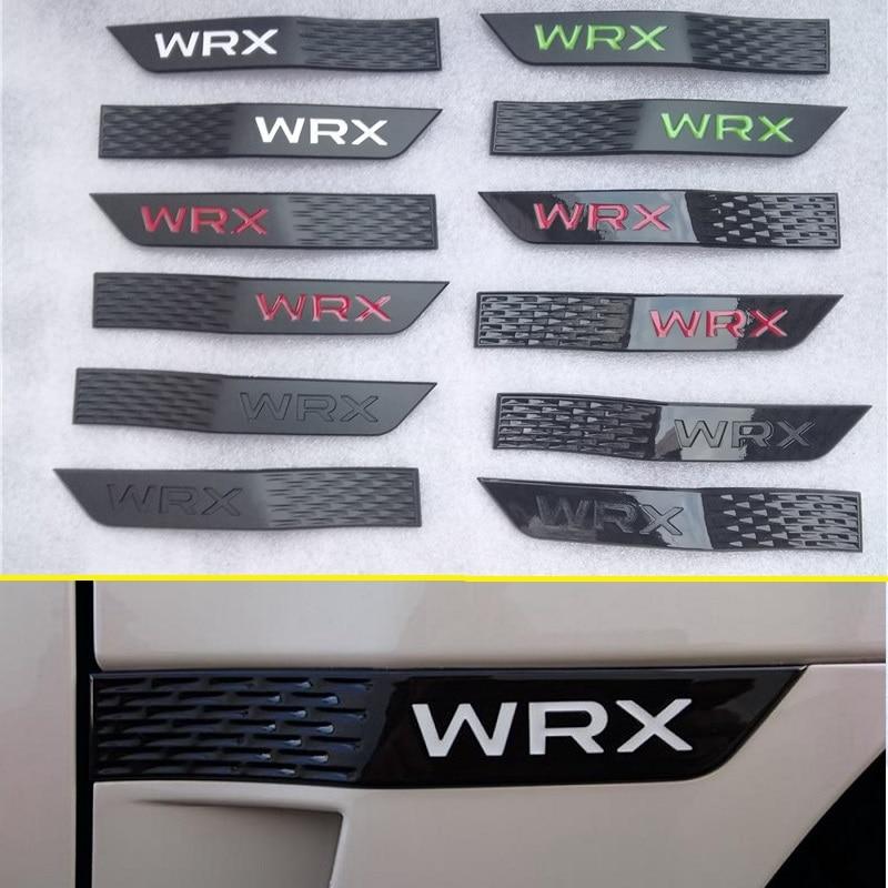 2 шт./компл. для Subaru WRX STI Новый 3D автомобильный значок украшение крыло юбка наклейка наклейки на крылья Стайлинг автомобиля
