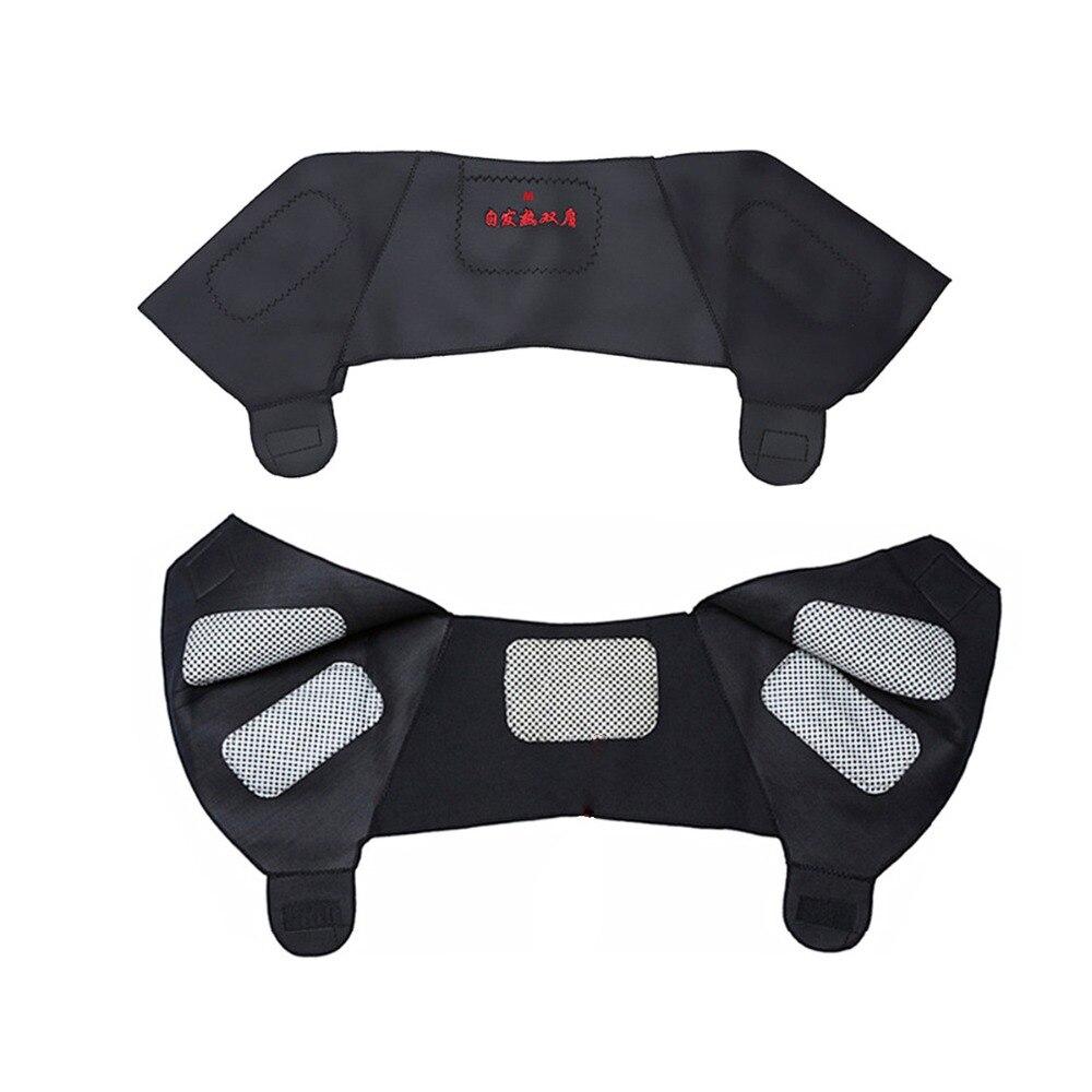 1 шт. турмалиновые Самонагревающиеся плечевые накладки поддерживающий массажер