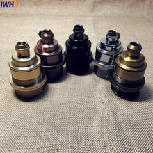 IWHD Portampada Vintage E27 porte-lampe ampoule Douille Douille suspension porte-lampe E27 Douille