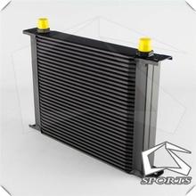 30 рядный Алюминиевый масляный радиатор 8 AN8 для универсальной автомобильной системы излучения/охлаждения