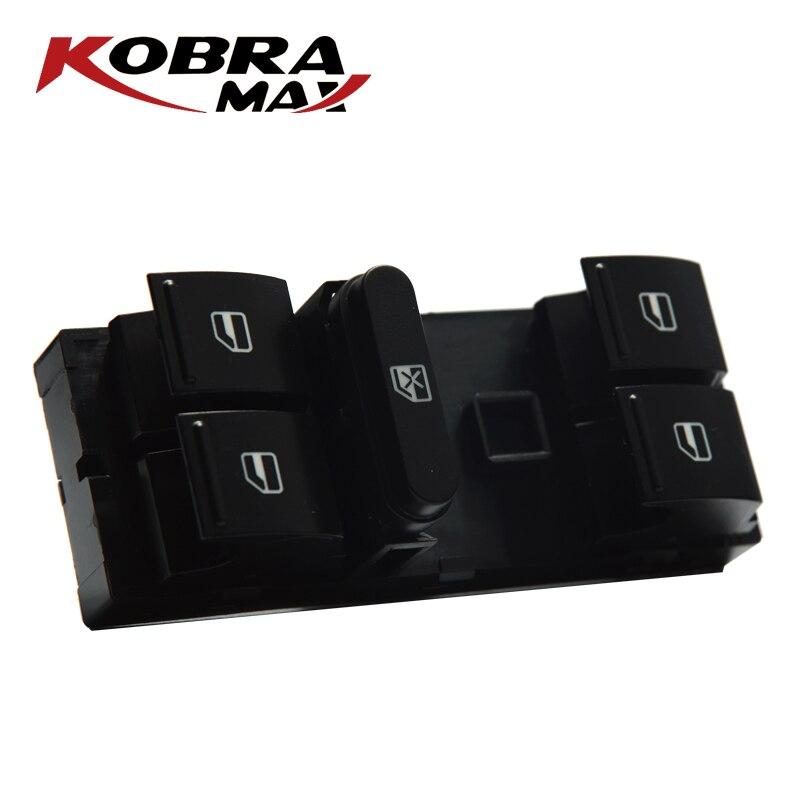 KobraMax Yeti pilote interrupteur de fenêtre dalimentation 1Z0959858B convient pour Skoda Fabia Octavia II Combi Hatchback Yeti Audi accessoires de voiture