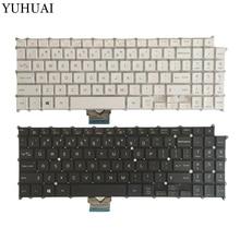 Клавиатура для ноутбука LG 15Z960 AEW73709802 HMB8146ELB01, клавиатура для ноутбука на английском языке, черный и белый цвета