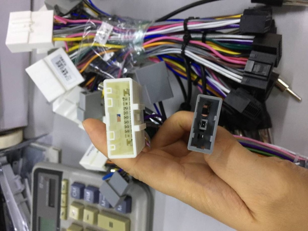 Nuevo Cable de alimentación Universal para Radio de coche de 2Din con Android, arnés ISO adecuado para LEXXSON Rhythm EZONETRONICS para Toyota Nissan
