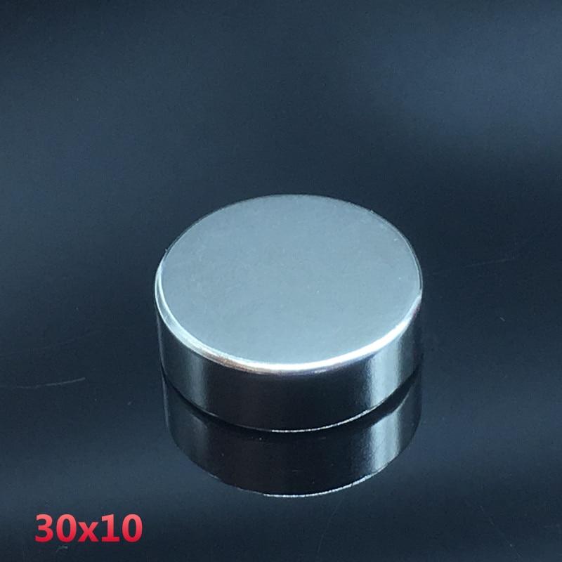 1pcs 30x10mm neodymium magnet 30mm*10mm strong rare earth neodymium magnets 30*10 mm NdFeB permanent round magnetic 30mmx10mm