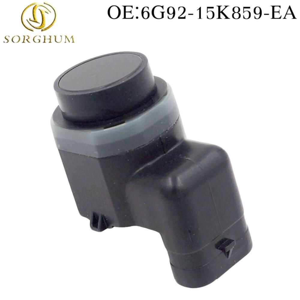 Nuevo Sensor de aparcamiento PDC 6G92-15K859-EA compatible con Ford Mondeo Galaxy s-max 1,8 2,0 también TDCi 1425517 6G9215K859EA