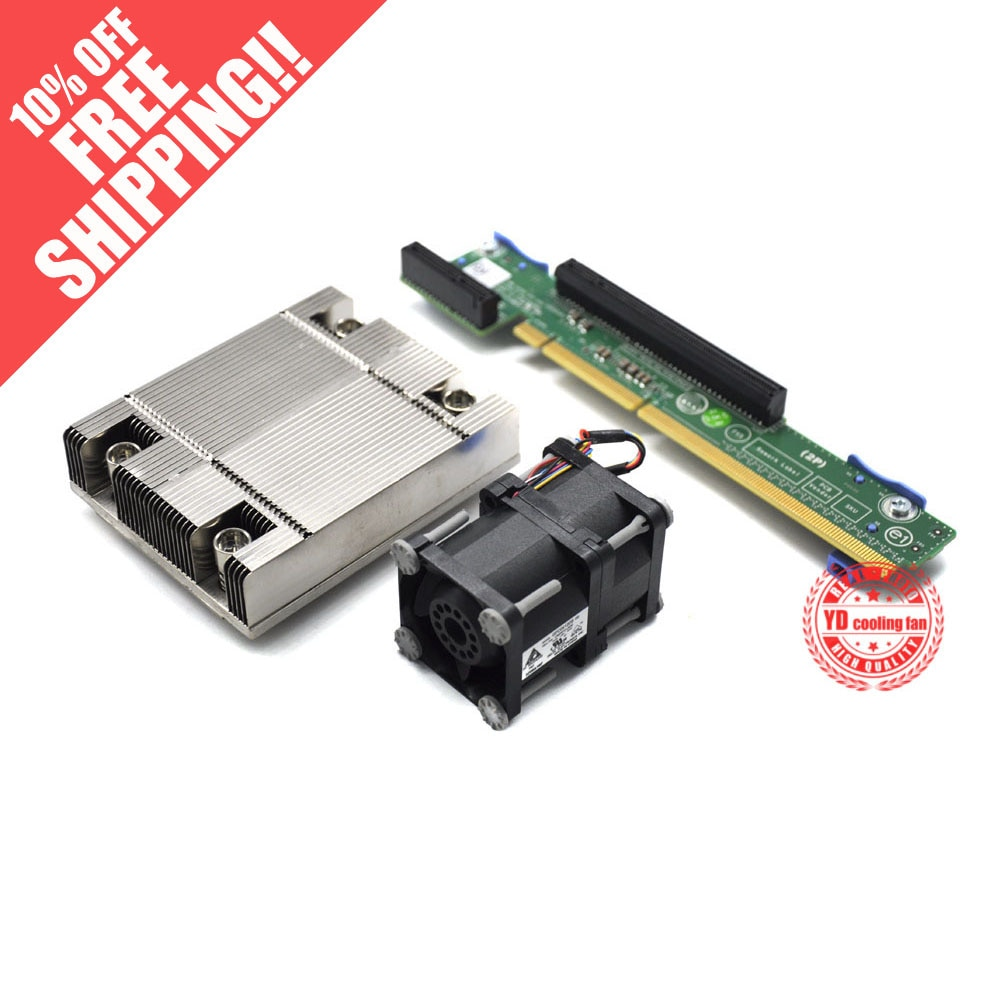 Для DELL серверного R420 R520 обновления CPU2 kit вентилятор + радиатор + карта 0XHMDT 0G8KHX 07KMJ7