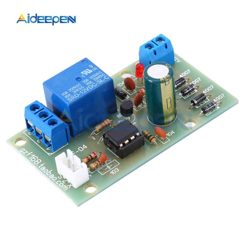 12V Liquid Level Controller Sensor Module Water Level Detection Sensor Board Fuel Flow Sensor Water Flow Switch Flowmeter
